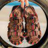 Men Personality Outdoor Beach Sandals - BROWN