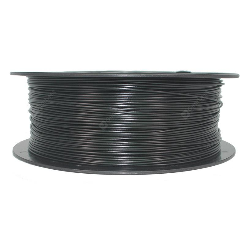 Alfawise PETG 1.75mm Filament for 3D Printer - Black