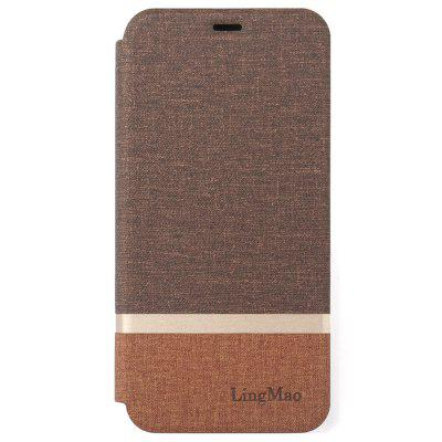 LingMao PU Phone Phone Case para iPhone XS Max