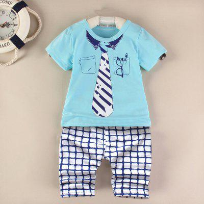 AF - 931 Summer Short Sleeve Kids Set