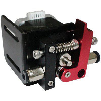Gocomma MK8 Aluminum Alloy Red Black Remote Feeding Kit Extruder Left and Right Arm Bracket Parts
