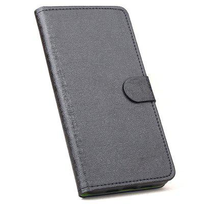 HongBaiwei Card Slot Bracket Design PU Funda de teléfono en color de contraste para Samsung Galaxy A6 Plus