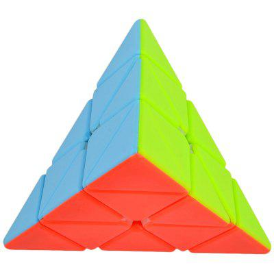 Cyclone Boys 100mm Pyraminx Smooth Speed ​​Magic Cube Puzzle Toy dla dzieci