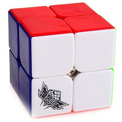 Cyclone Boys 50mm 2 x 2 x 2 Stickerloos Speed ​​Magic Cube Puzzel Speelgoed voor kinderen
