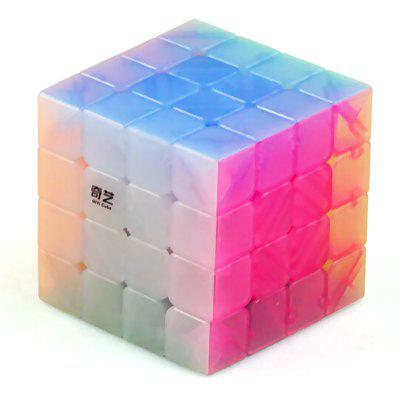 QiYi 4 x 4 Smooth Magic Cube Finger Puzzle Toy