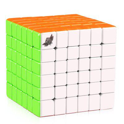 Qiyi 6 x 6 x 6 Stickerless Speed ​​Magic Cube Puzzle Toy for Kids