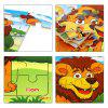 Houten Forest Animal Jigsaw Puzzle - MULTI-A