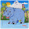 Houten Forest Animal Jigsaw Puzzle - MULTI-C