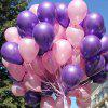 10 inch Parelachtige Latexballon 100st - PURPER