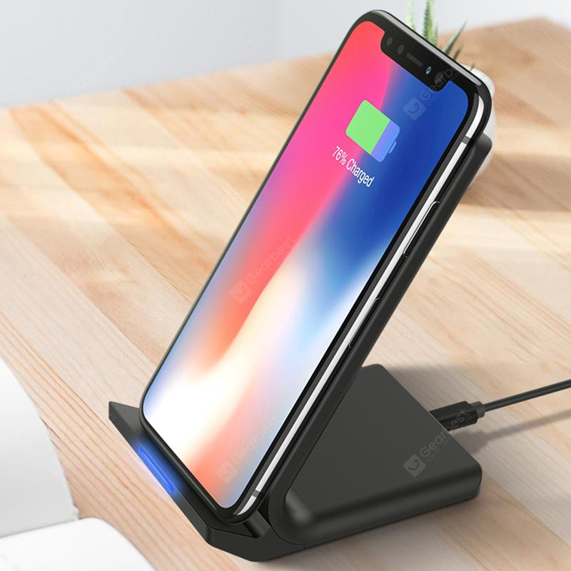 Floveme Vertical Qi Wireless Charger - Black