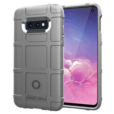 Scrub anti-impressão digital de silicone anti-queda Soft Phone Case para Samsung Galaxy S10E