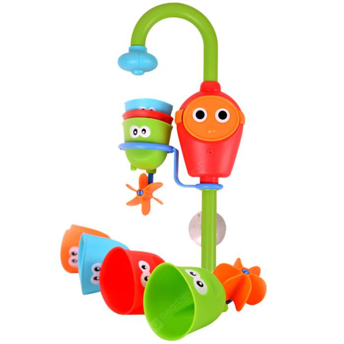 Cute Suction Cup Style Baby Bath Toys - Multi