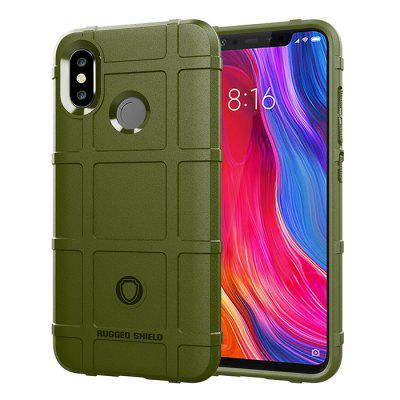 ASLING Shield Series TPU Soft Case Phone Protector Cover for Xiaomi Mi 8