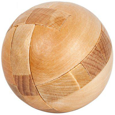 Wooden Disassembly Intelligence Classical Puzzle Toys IQ Ball