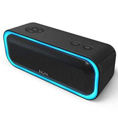 Doss DS - BT10 Pro Stereo Draadloze Bluetooth Speaker Bass Soundbox met LED-lampje