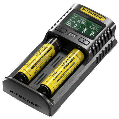 NITECORE UM2 LCD Screen Display Battery Charger