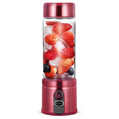 Gocomma ASD - 188 Portable USB Rechargeable Juicer Mini Blender - Red