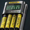 NITECORE UM4 Intelligent USB Battery Charger - BLACK