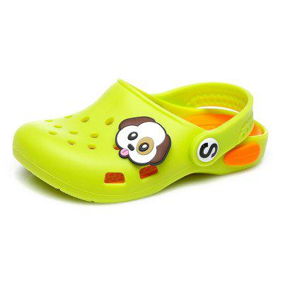 LITTLE BEAR CAPTAIN QC - 7169 Baby Beach Silicone Hole Shoes