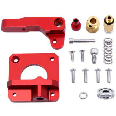 Right Left Upgraded Replacement Tool 3D Printers Parts Remote Metal Aluminum Extruder for Creality CR - 10
