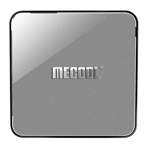 MECOOL KM3 ATV Google Certified Amlogic S905X2 Android Pie 9.0 OS 4K TV Box with Voice Remote Dual Band WiFi Bluetooth USB 3.0