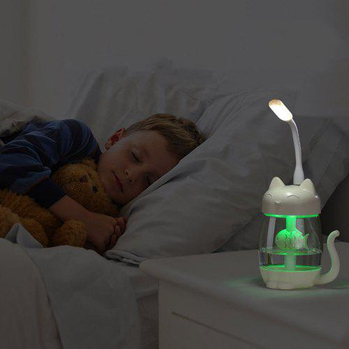 UTORCH 3 in 1 Mini Humidifier with LED Light and Mini Fan