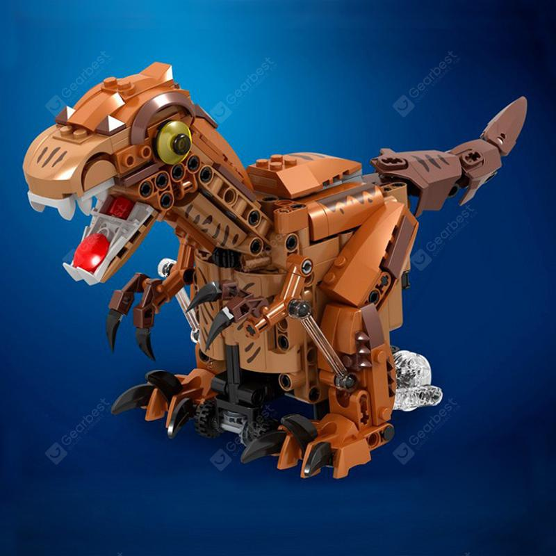 Gocomma B02 Electric Dinosaur Building Blocks 424Pcs