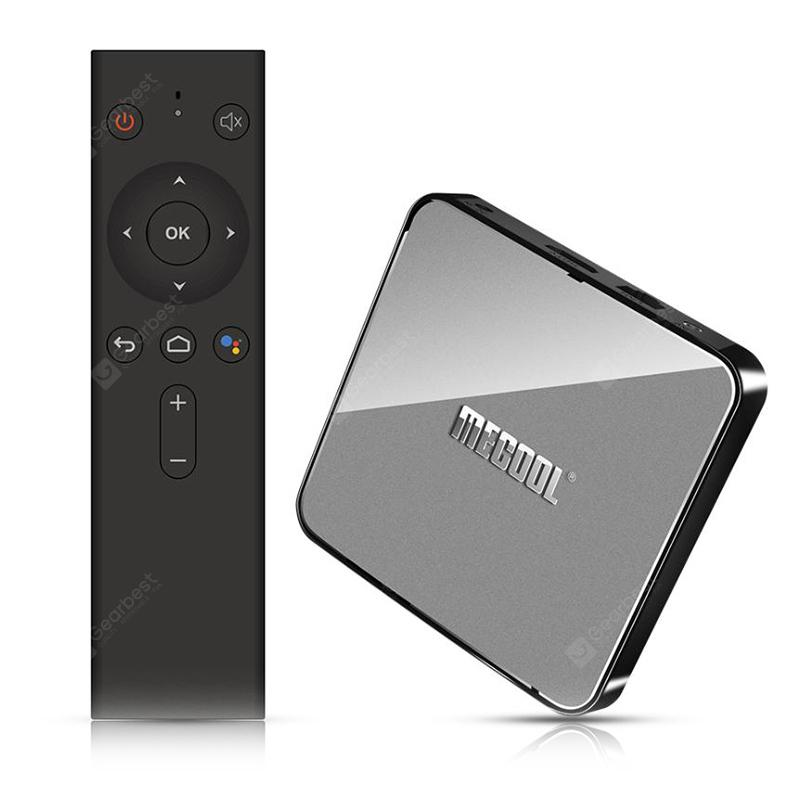 MECOOL KM3 Android 9.0 Voice Control TV Box Google Certificated