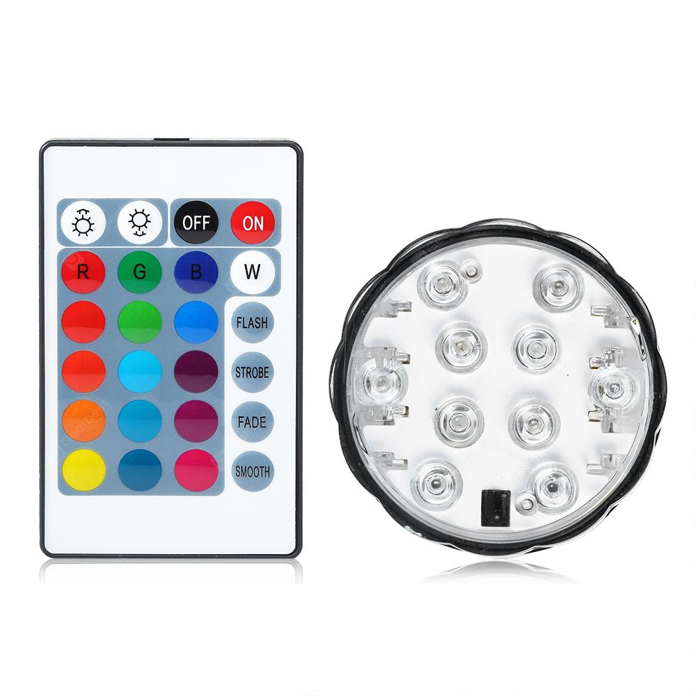 Utorch Remote Control Waterproof RGB Light - Transparent 1pc