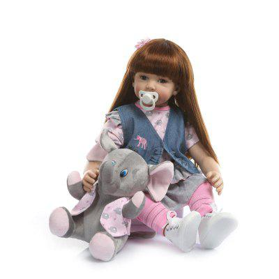NPK Long Hair Big Doll Simulation Toy