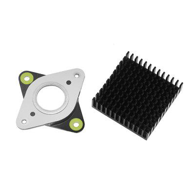 Gocomma Damper Blocker with Radiator for 42 Stepper Motor
