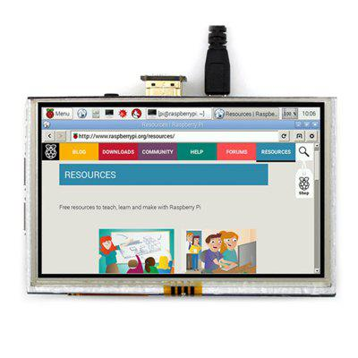 Raspberry Pi 3 5 inch Resistive HDMI Interface Touch Screen LCD Monitor