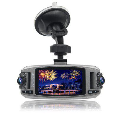 F80 2.7 inch Dual Lens Car DVR Motion Detection Image