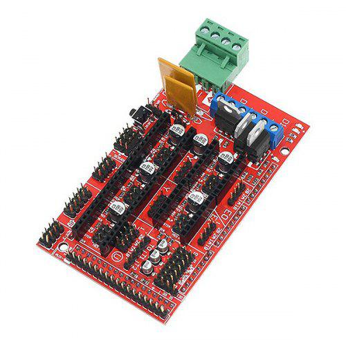 Gocomma Ramps 1.4 Expansion Board with Heat Sink for Arduino 3D Printer
