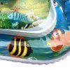 Opblaasbare Tummy Time Premium Water Mat voor baby's peuter - MULTI-A