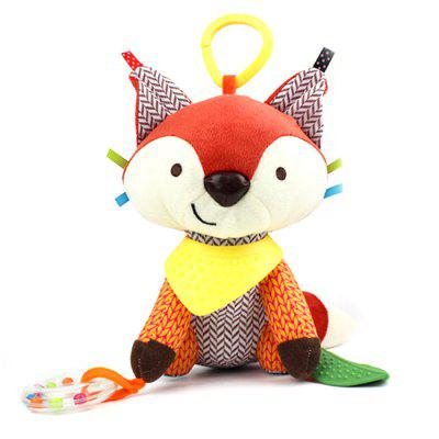 Multifunctional Infant Plush Animal Educational Toy