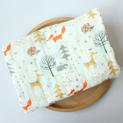 115 X 115cm Newborn Gauze Cover Covered with Scarf