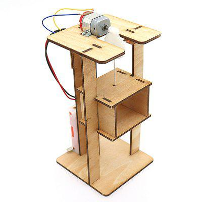 DIY Wooden Electric Lift Model Kit