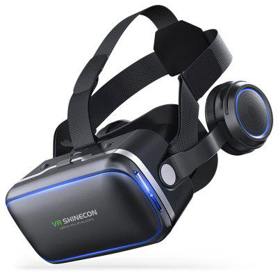 VR SHINECON G04E 7th Generation 3D Headset Home Theater Game Glasses