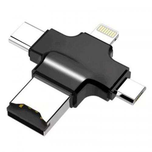 Gocomma 4-in-1 USB 3.0 / 2.0 Card Reader