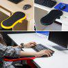 Comfortable Arm Support Computer Hand Pallet Mouse Pads - BLACK