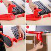 Comfortable Arm Support Computer Hand Pallet Mouse Pads - RED