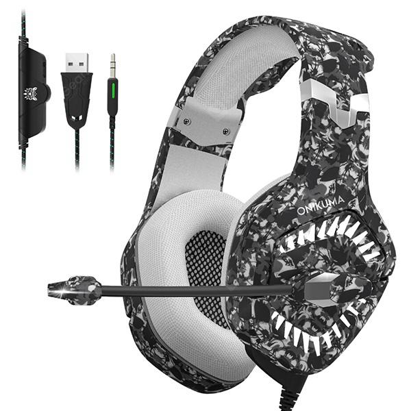 gocomma ONIKUMA K1 Pro Game Headset Over-ear Headphone - ACU Camouflage