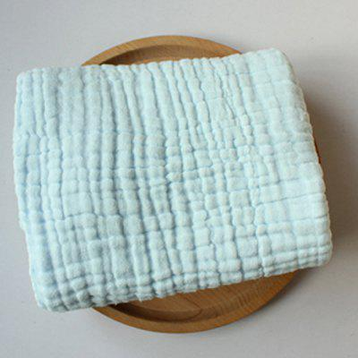 85 x 85cm Towel Solid Color Washed Gauze Towel Newborn Quilt