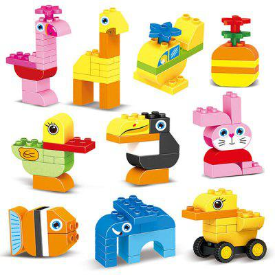 DIY Puzzle Early Education Assembling Building Blocks 94PCS