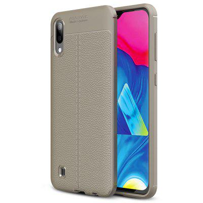 AISLING Litchi Couro Series Mobile Phone Case para Samsung Galaxy M10