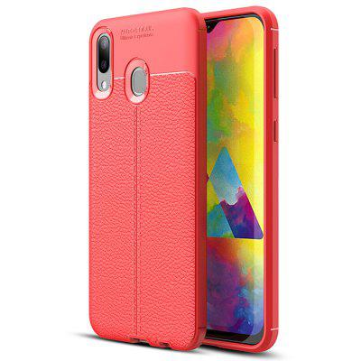 ASLING Litchi Leather Series Mobile Phone Case for Samsung Galaxy M20