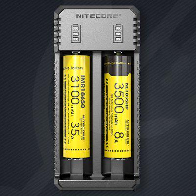 Nitecore UI2 USB Dual Slot Portable Lithium Battery Charger
