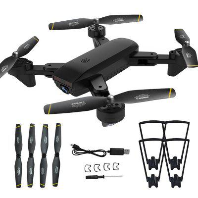 DM107S Dual Cameras Foldable RC Drone High-speed Support VR UAV RTF