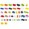 DIY Puzzle Early Education Assembling Building Blocks 94PCS - MULTI
